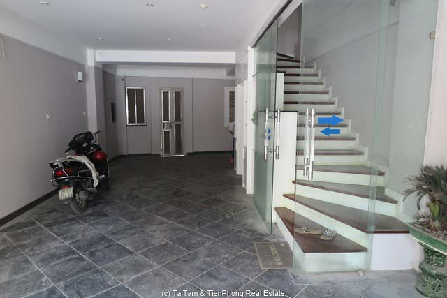 Modern house for rent in Yen Phu Village, lake view.